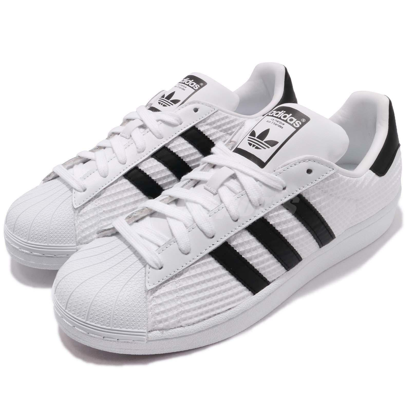 adidas Originals Superstar Footwear blanc Core Noir hommes Casual Shoes CM8077