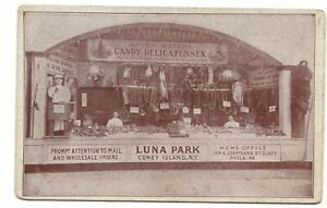 Postcard-Bauer-Sisters-Candy-Luna-Park-Coney-Island-NY-Office-Philadelphia-PA