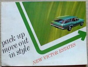 VAUXHALL VICTOR ESTATES Car Sales Brochure For 1968 #V1834/3/68