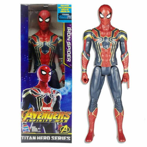 Marvel Avengers Infinity War Titan Hero Series Iron Spider Power FX Port Figure