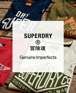 Superdry Mens Factory Second T-Shirt