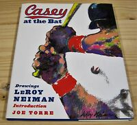 Leroy Neiman Casey At The Bat Signed 1st Print & Unread