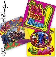 Psalty Kids Praise & Worship Childrens Story Fun Christian 3 CD Combo Set 1 2 3