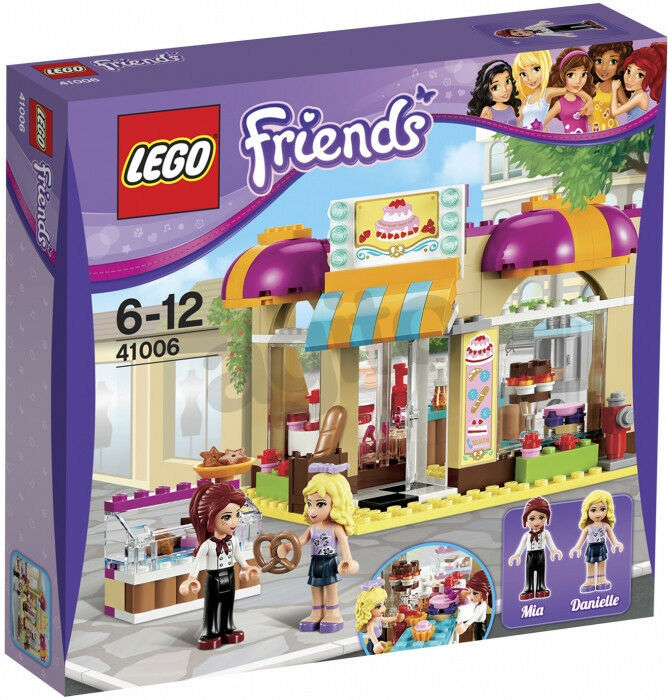 Lego Friends New Sealed Set 41006 Downtown Bakery Complete Minifigs Girls Toy