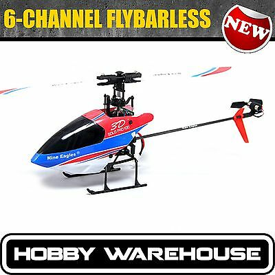 Nine Eagles SOLO PRO 100D 6Ch 3D 2.4Ghz RC Helicopter Flybarless RTF 280A