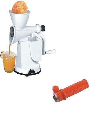 Shri Krishna Fruit Juicer (White) With Free Corn Cutter