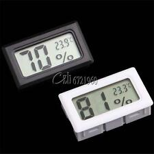 Hot Lcd Thermometer Hygrometer Humidity Temperature Meter Indoor K Type Probe