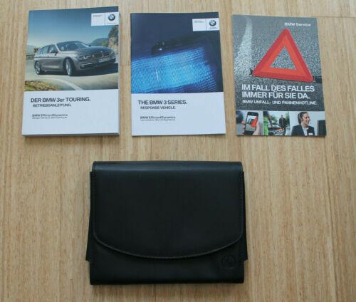 Manuale d/'uso BMW 3er Touring f31 in pelle cartella bordo cartella con bordo libri