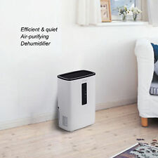 Portable Dehumidifier for Rooms, Basement, Bathroom, Ultra-Quiet,with UV Light