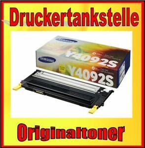 Original Toner Samsung CLT-Y4092S CLP-310 N 315 N CLX-3170 FN CLX-3175 FN FW N