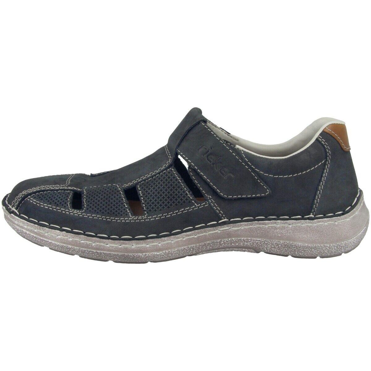 Rieker Jaipur-Bakersfield zapatos caballero Men ocio zapato bajo mocasines 03065-14