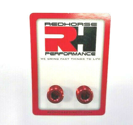 "932-04-3 Redhorse 1//4/"" NPT Pipe Plugs//Pair"