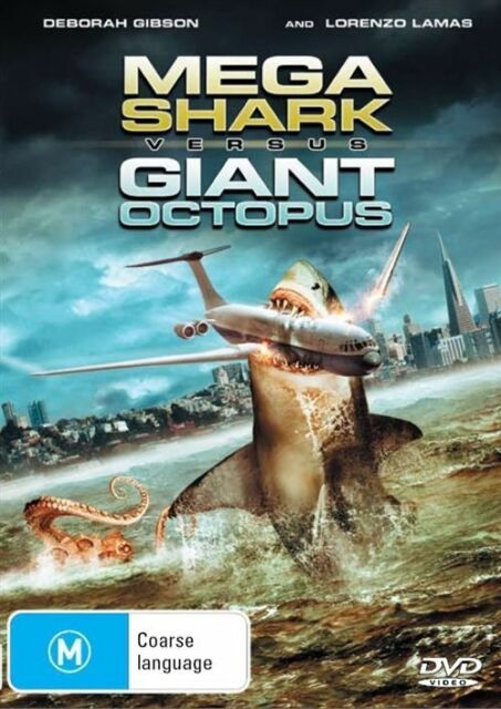 Mega Shark Versus Giant Octopus (DVD, 2009)
