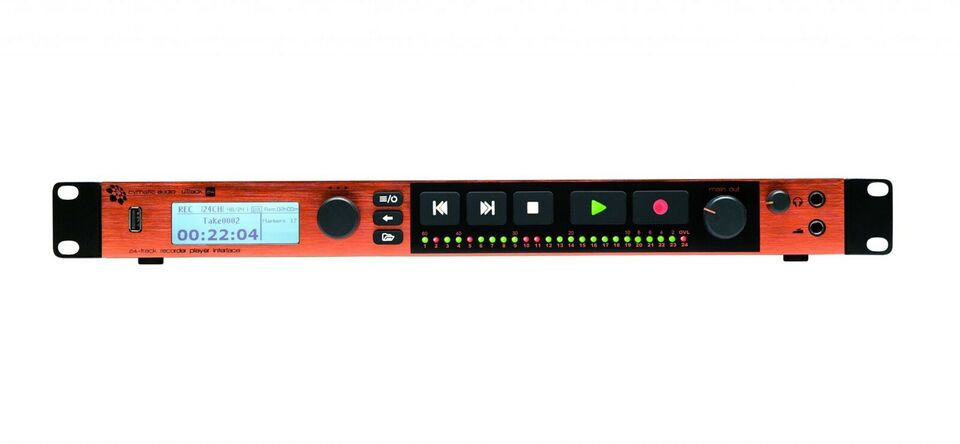 Interface/Recorder/Player, Cymatic uTrack 24