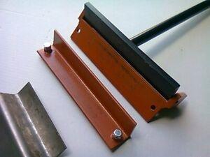 "New manual folding tool folder, bending machine 250mm/2mm (10"" long), sheet meta"