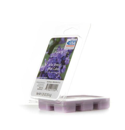 Set of 12 Lilac Breeze Wax Melts Cubes NEW Lavender Color
