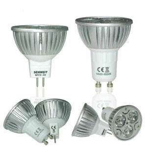 LAMPADINA-FARETTO-LED-LAMPADA-MR16-4-6W-12V-CALDA-FREDDA-Dimmerabile-Luce