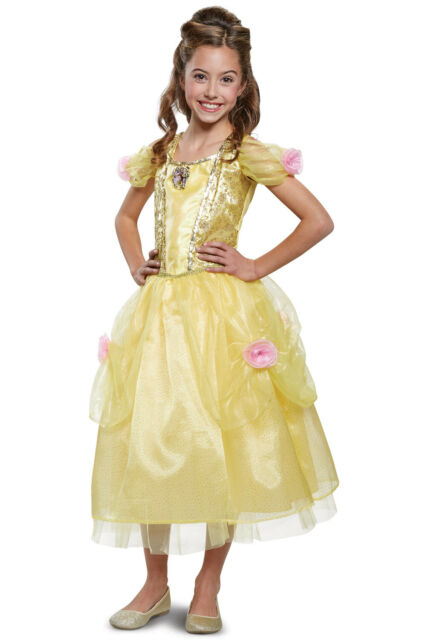 Disney Princess Beauty and the Beast Belle Gloves Toddler Costume Accessory