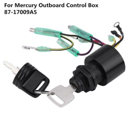 87-17009A5 Ignition Key Switch MP41070-2 Replacement Marine Outboard Fit Mercury