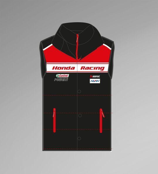 Official Honda Racing BSB Racing Body Warmer - 16BW