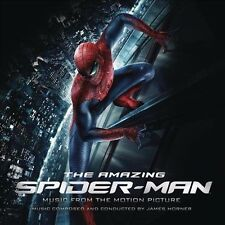 The  Amazing Spider-Man by James Horner (CD, Jul-2012, Sony Classical)