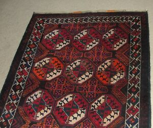 Rug Carpet Antique Hand Made Notted