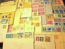 78 British Stamped/Imprinted Covers, Cards, Air Letters (Unchecked/50s-70s)