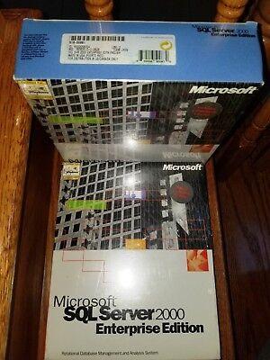 5 CAL Sealed Box Full Retail SKU 228-00683 Microsoft SQL Server 2000