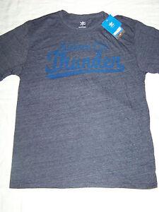 new product 18eb3 bfb95 Details about Adidas Originals Men's Oklahoma City Thunder Shirt NWT