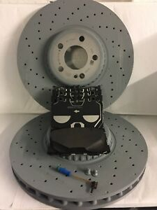 Genuine-Mercedes-Benz-X253-GLC-AMG-Front-Brake-Discs-amp-Pads-Kit-NEW