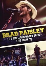 Brad Paisley: Live Amplified World Tour - Live From WVU (DVD, 2016)