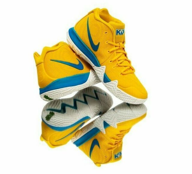 the best attitude 632a1 0d2b2 Mens Nike Kyrie 4 Kix Cereal Amarillo Limited Basketball Bv0425 700 Shoes 14