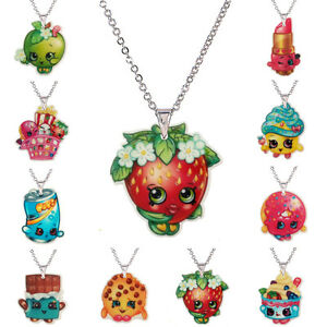 Image Is Loading SHOPKINS Season 1 Necklaces 10 Characters Yo Chi