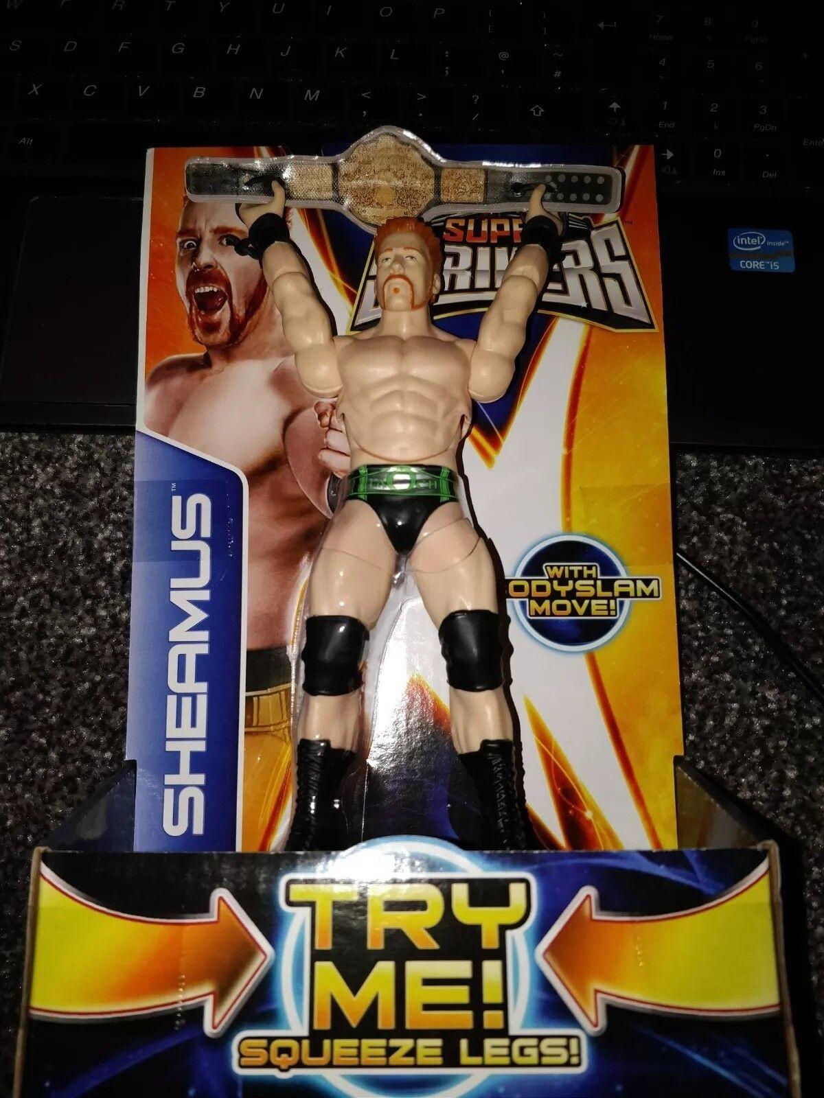 SHEAMUS WWE FIGURE SUPER STRIKERS NEW SEALED RARE