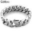 Edelstahl-Herren-Armband-Panzerarmband-Armkette-XL-Gross-Silber-Matt Indexbild 1