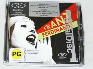 Franz-Ferdinand-You-Could-Have-It-So-Much-Better-Dvd-CD-Unsealed