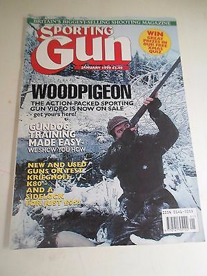 Koop Goedkoop Vintage Sporting Gun Magazine - January 1998 - Illustrated Glanzend