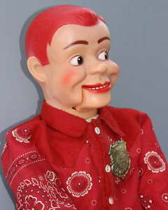 JERRY-MAHONEY-VENTRILOQUIST-VINYL-DOLL-With-CLOTH-BODY