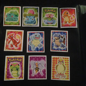 Pokemon Merlin Series 1 Sticker Pack FREE UK POST
