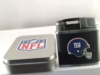 NFL BUTANE TORCH TURBO LIGHTER REFILLABLE WINDPROOF IN A TIN GIFT ASSORTED TEAMS