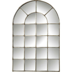 Image is loading Restoration-Hardware-Replica -Palladian-Arched-Window-Pane-Wall-  sc 1 st  eBay & Restoration Hardware Replica Palladian Arched Window Pane Wall Floor ...