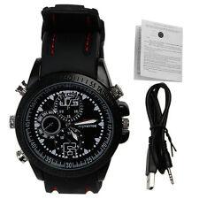 8GB Cinturino Orologio con nascosto Mini Spia Videocamera Spy hidden Cam A14