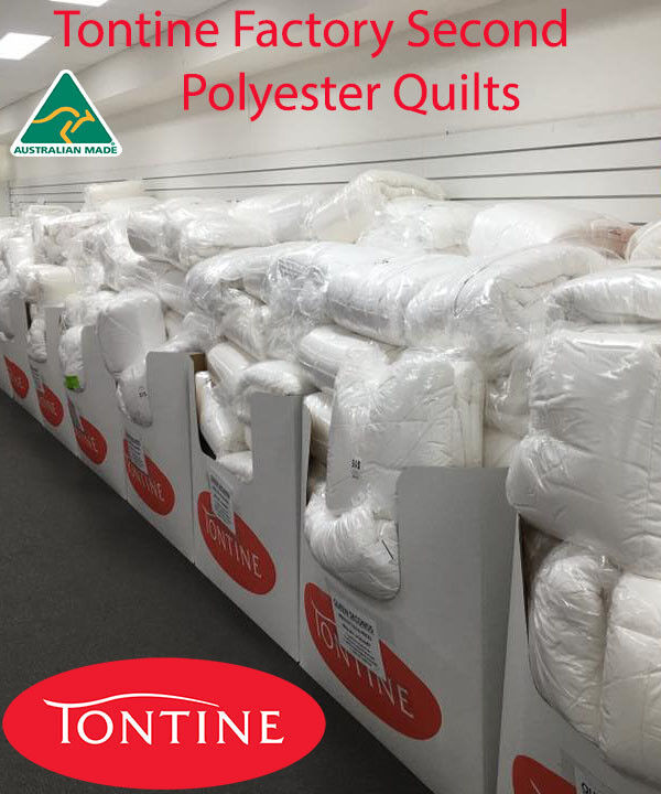 Tontine  FACTORY SECOND Australian Super Warm Polyester Doona Duvet Quilt -QUEEN