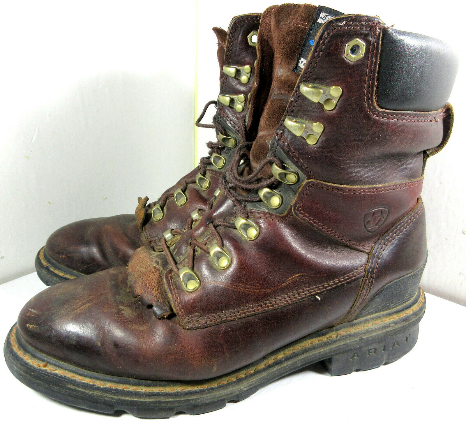 Ariat 10002457 Hermosa XR 8  estilo occidental Roper flecos Trabajo botas De Montar 10D