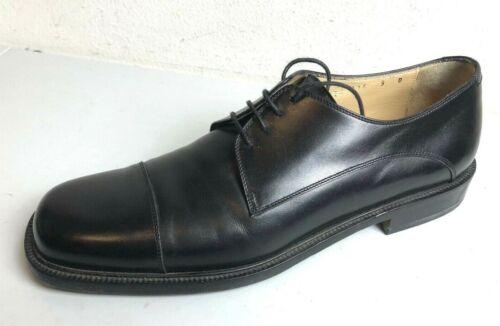 Salvatore FERRAGAMO Black CAPTOE Oxfords Shoes 9 ~