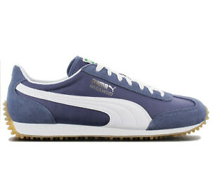 1346d494f3c88 Details about Puma Whirlwind Classic Trainers Sneakers 351293-87 Blue Shoes  Retro Fashion New
