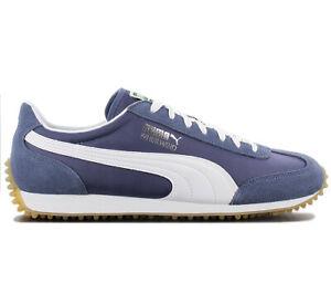 Puma-Whirlwind-Deportiva-Clasica-351293-87-Azul-Zapatos-Retro-Fashion-Zapatilla