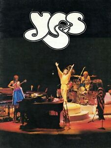 YES 1979 TORMATO U.S. TOUR CONCERT PROGRAM BOOK BOOKLET-JON ANDERSON-EX TO MINT