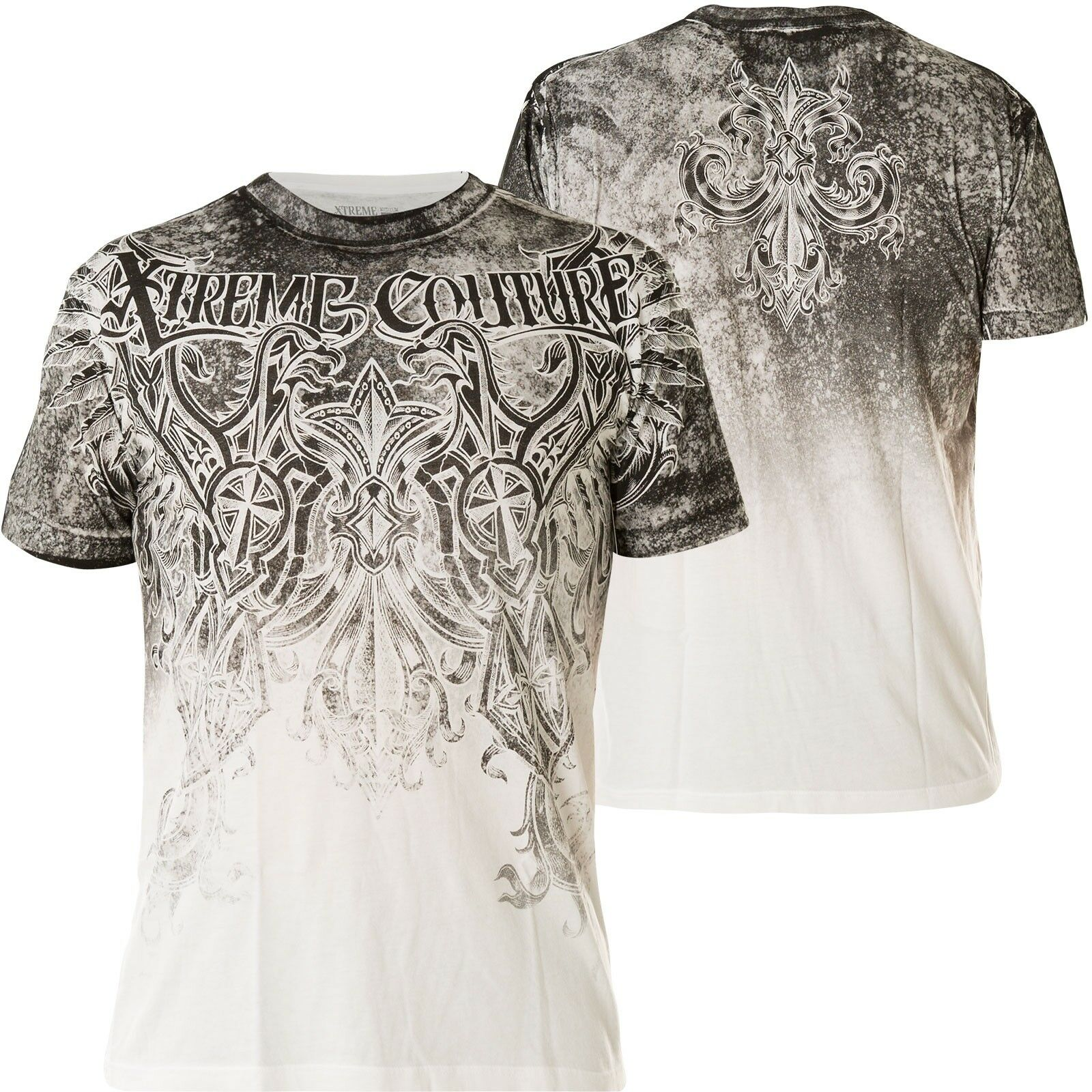 b621ae4e3 XTREME AFFLICTION T-Shirt Southpaw Weiß T-Shirts COUTURE BY nvzjsw37-T- Shirts