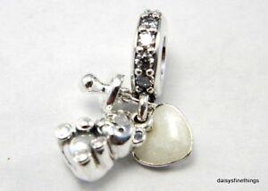 New Authentic Pandora Silver Charm Baby Treasures
